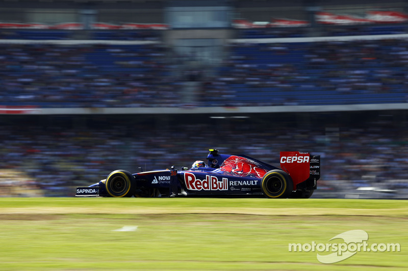 2014 год. За рулем Toro Rosso STR9 на квалификации