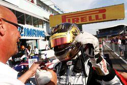 Racewinnaar Marvin Kirchhofer