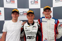 Vainqueur: Marvin Kirchhofer, 2ème Alex Lynn, 3ème Emil Bernstorff