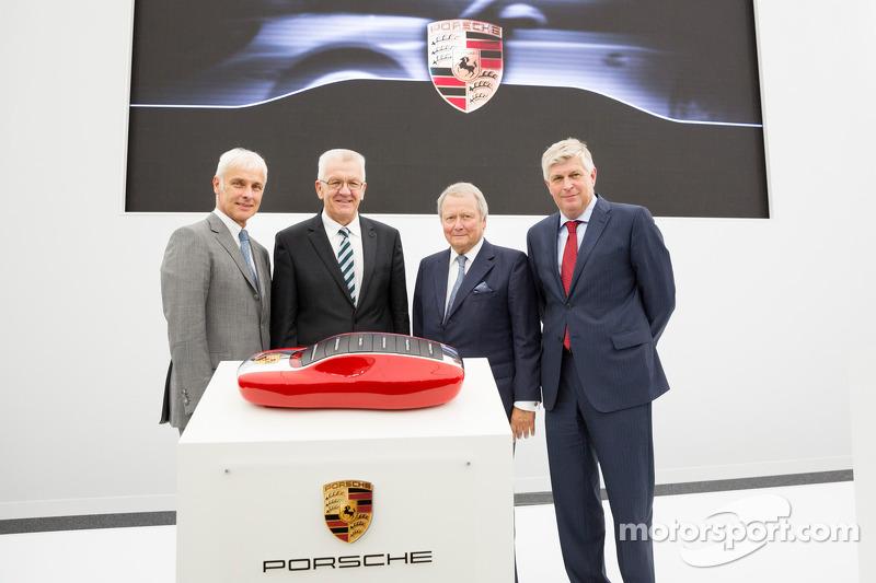 Installations Porsche à Weissach