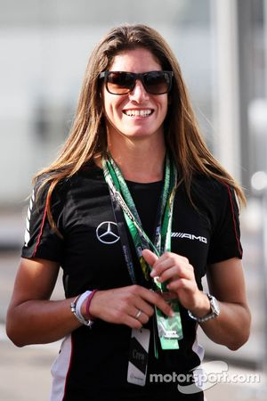 Синди Аллеман. ГП Германии, Воскресенье, перед гонкой.