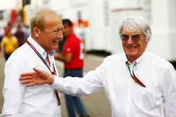 Bernie Ecclestone und Manfred Zimmerman