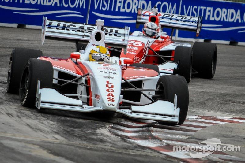 Luiz Razia, Team Moore Racing