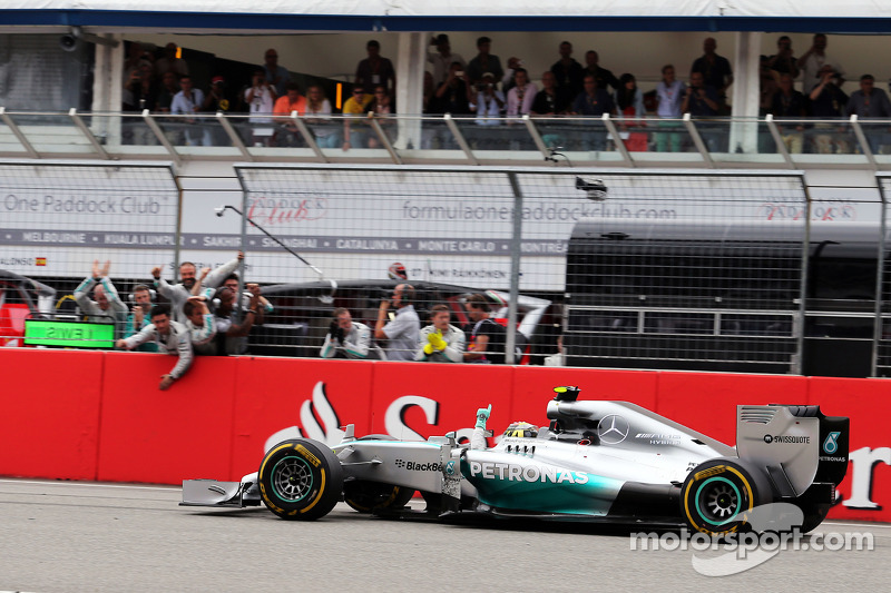 2014 (Hockenheim): Nico Rosberg (Mercedes F1 W05 Hybrid)
