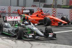 Sébastien Bourdais, KVSH Racing Chevrolet heureux