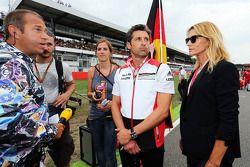 Kai Ebel avec Patrick Dempsey et sa femme Jill Fink