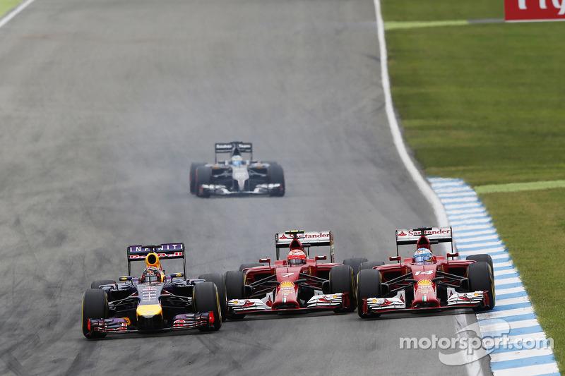 Vettel eddigi karrierje során 3404 kört tett meg az első helyen.