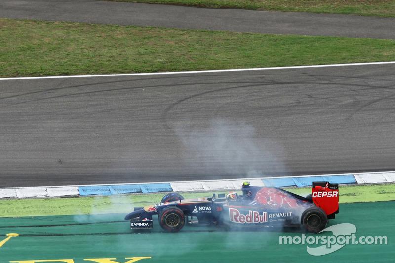 2014 год. Столкновение с Серхио Пересом в гонке