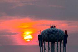 Chicagoland'da gün batımı