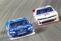 Elliott Sadler and Kyle Larson