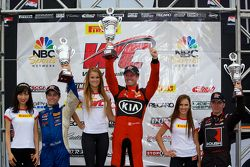 Podium GTS : Mark Wilkins, Alec Udell, Jack Roush Jr.