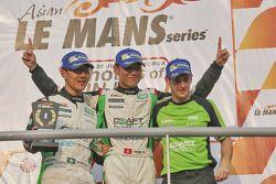 Vencedores Mathias Beche, Kevin Tse, Frank Yu