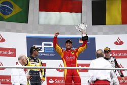 Podium: race winner Stefano Coletti, second place Felipe Nasr, third place Stoffel Vandoorne