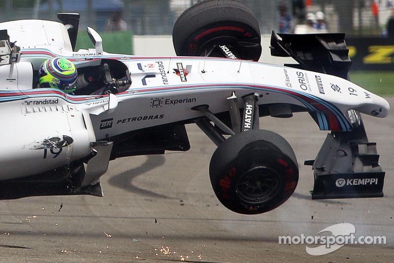 Felipe Massa - 8 abandonos en la primera vuelta
