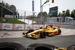Райан Хантер-Рей. Торонто, первая воскресная гонка.