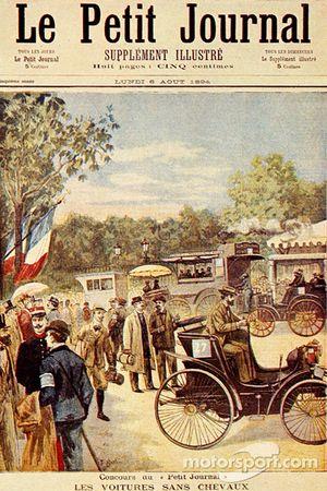 Prima pagina del quotidiano 'Petit Journal ', del 5 agosto 1894,