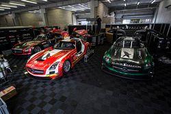黑隼车队梅赛德斯SLS AMG GT3
