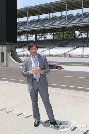 J. Douglass Boles, President de l'Indianapolis Motor Speedway