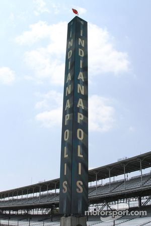 The new scoring pylon at Indianapolis Motor Speedway