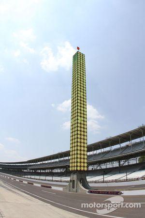The new scoring pylon at Indianapolis Motor Speedway