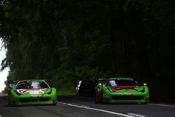 Ferraris ride into town