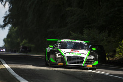 #22 Team Parker Racing Audi R8 LMS ultra: Ian Loggie, Leonid Machitski, Carl Rosenblad, Julian Westw