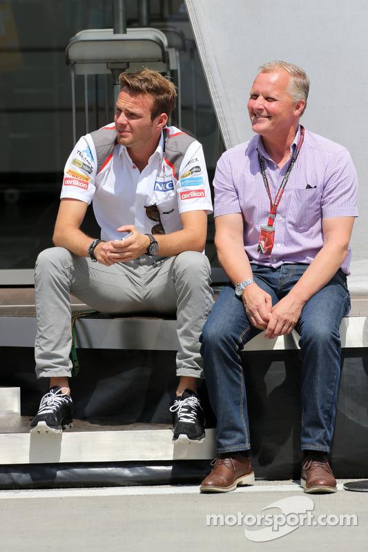 Giedo van der Garde, Üçüncü Pilotu, Sauber F1 Takımı ve Johnny Herbert