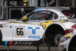 #66 BMW Sports Trophy Team Marc VDS BMW Z4: Maxime Martin, Augusto Farfus, Jorg Muller