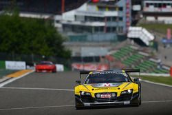 #25 Saintéloc Racing Audi R8 LMS ultra: Jean-Paul Buffin, Claude-Yves Gosselin, Philippe Haezebrouck
