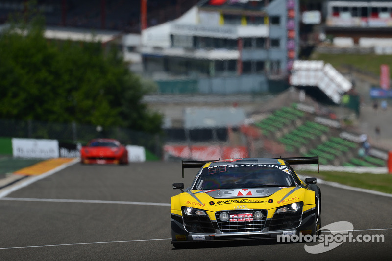 #25 Saintéloc Racing 奥迪 R8 LMS ultra: Jean-Paul Buffin, Claude-Yves Gosselin, Philippe Haezebrouck,