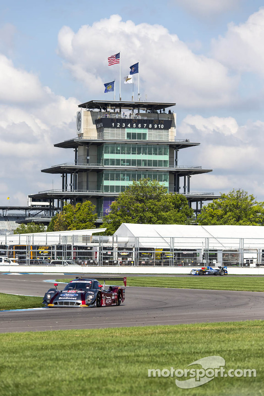 #60 Michael Shank Racing, com Curb/Agajanian Ford EcoBoost/Riley: John Pew, Oswaldo Negri