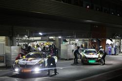 Garagem do BMW Sports Trophy Team Marc VDS