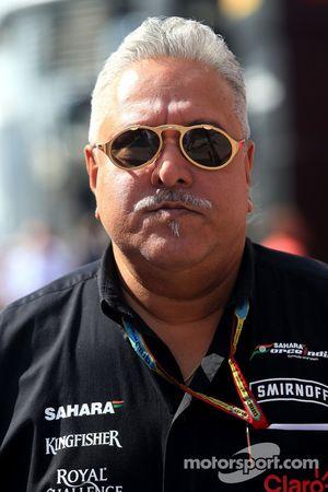 Vijay Mallya, Sahara Force India