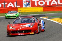 #52 AF Corse Ferrari 458 Italia: Steve Wyatt, Michele Rugolo, Craig Lowndes, Andrea Piccini