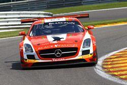 #63 Black Falcon Mercedes SLS AMG GT3: Adam Christodoulou, Yelmer Buurman, Mike Parisy