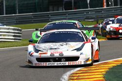 #41 Sport Garage Ferrari 458 Italia: George Cabannes, Bernard Delhez, Thierry Prignaud, Michael Albert