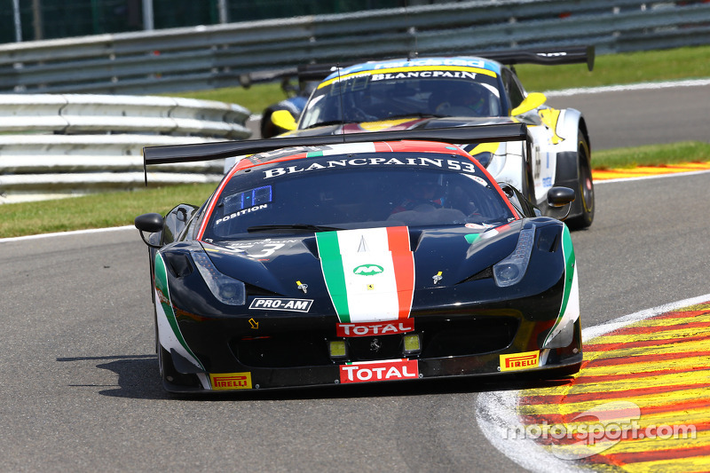 #53 AF Corse Ferrari 458 Italia: Niek Hommerson, Louis Machiels, Andrea Bertolini, Marco Cioci