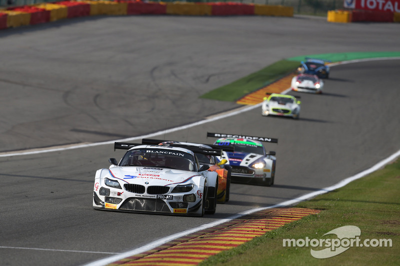 #43 ROAL Motorsport 宝马 Z4: 斯蒂法诺·科曼迪尼, 欧亨尼奥·阿莫斯, 米切拉·塞鲁蒂, 斯蒂法诺·科伦布