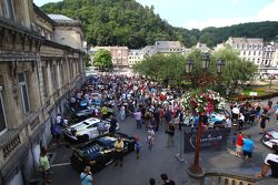 Cars in downtown Spa