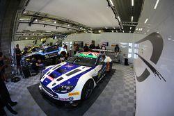 #107 Beechdean AMR Aston Martin Vantage GT3: Andrew Howard, Daniel Lloyd, Stefan Mücke