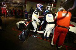 #116 Team SOFREV ASP Ferrari 458 Italia: Fabien Barthez, Eric Debard, Ludovic Badey, Tristan Vautier