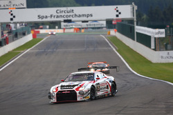 #35 Nissan GT Academy Team RJN Nissan GT-R Nismo GT3: Mark Shulzhitskiy, Masataka Yanagida, Miguel F