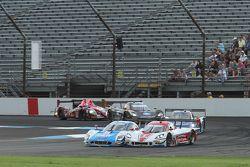 #01 Chip Ganassi Ford/Riley: Scott Pruett, Memo Rojas and #5 Action Express Racing Corvette DP: Joao Barbosa, Christian Fittipaldi