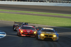 #94 Turner Motorsport BMW Z4: Dane Cameron, Paul Dalla Lana and #62 Risi Competizione Ferrari F458: