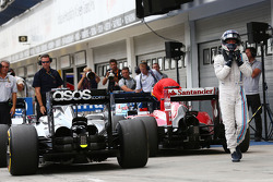 Valtteri Bottas, Williams no parc ferme