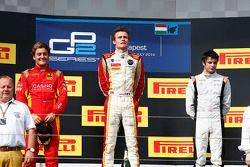 Arthur Pic, Stefano Coletti en Adrian Quaife-Hobbs