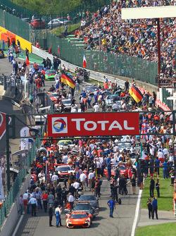 Pré-corrida grid