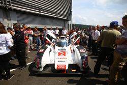 Audi R18 e-tron quattro vencedor de Le Mans