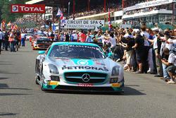 #86 HTP Motorsport 梅赛德斯 SLS AMG GT3: 马克西米利安·布克, 马克西米利安·格策, 贾泽曼·贾法尔