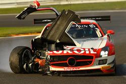 Problema para #85 HTP Motorsport Mercedes SLS AMG GT3: Lucas Wolf, Sergei Afanasiev, Stef Dusseldorp